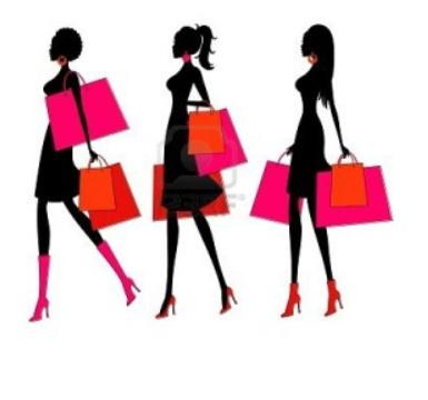 Black ladies shopping